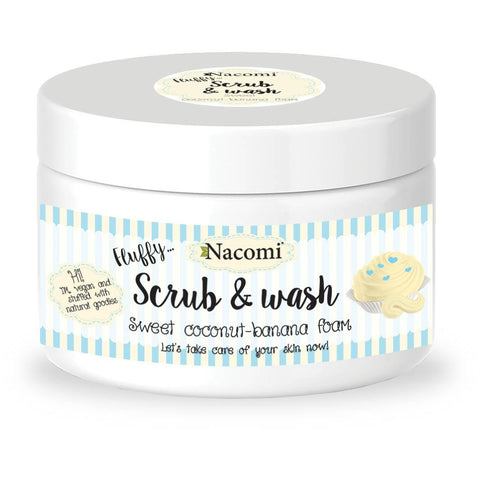 Fluffy Scrub & Wash - Sweet coconut-banana foam - belleza.is
