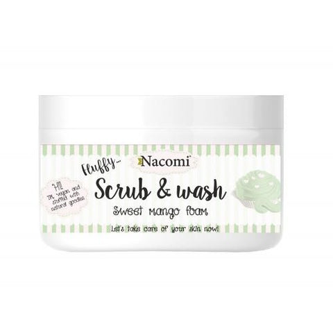 Fluffy Scrub & Wash - Sweet Mango Foam - belleza.is