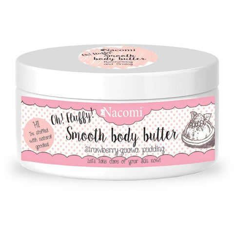 Smooth Body Butter - Strawberry/guava pudding - belleza.is