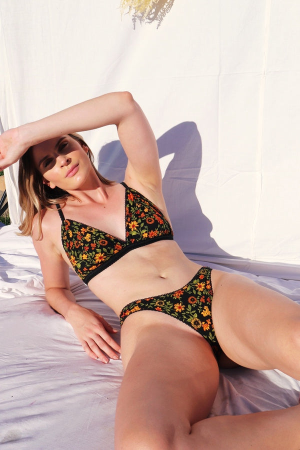 Sunflower Romance Underwear