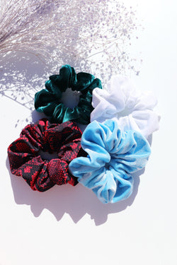 Scrunchies - 4 Pack