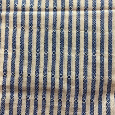 Blue Detail Stripe Cotton