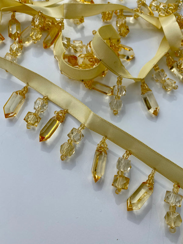 Yellow Crystal Trim