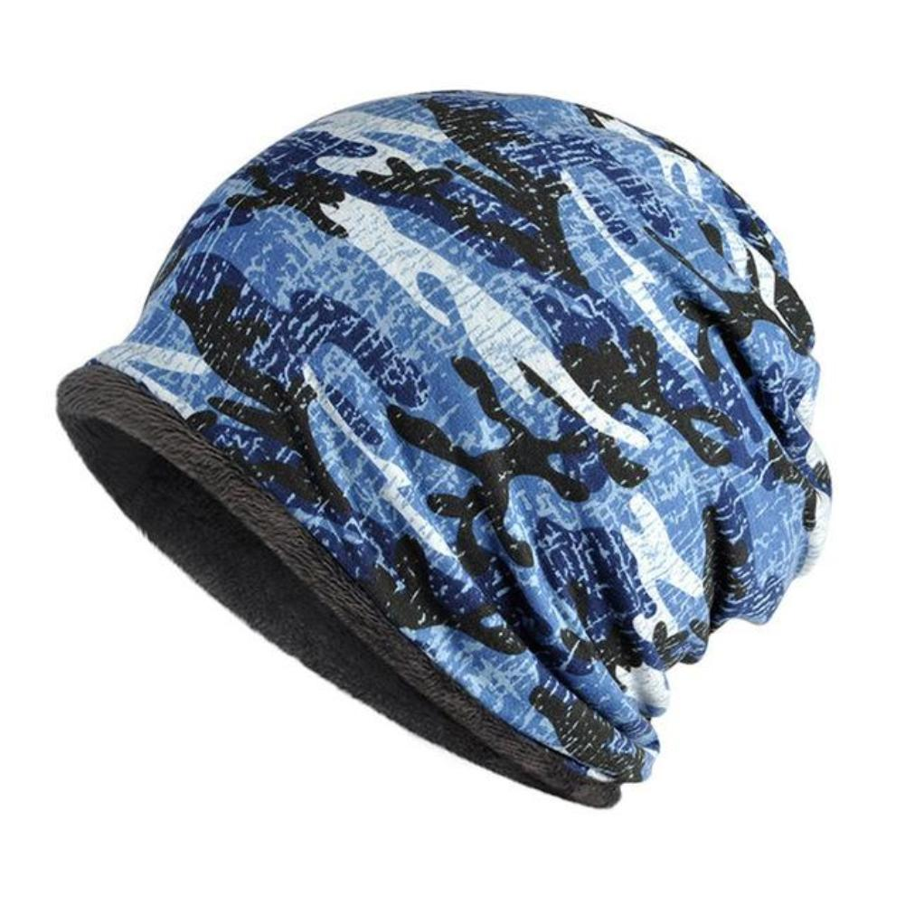 c5652879a29 3 in 1 Fleece-Lined Camouflage Beanie - Collar - Scarf. Quick View