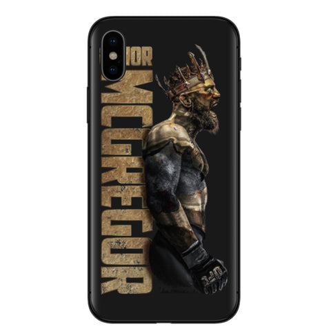 Conor McGregor Gold King Case for iPhone