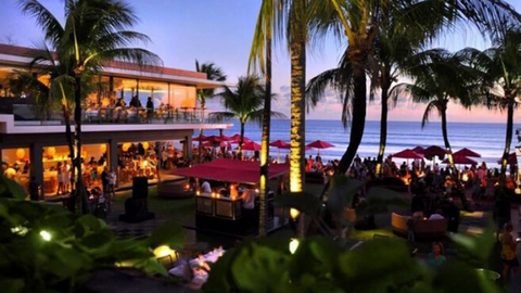 Ku De Ta in Seminyak is well known for its sophisticated beach club experience and first-class dining scene.
