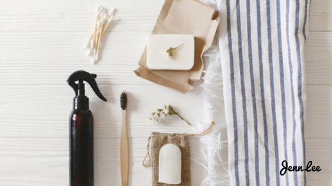 Try to make your own cleaning products as a part of the zero waste regime.