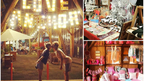 Canggu is famous for its hipster local markets. Love Anchor market is must-visit place.