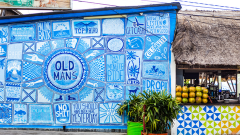 Old Man's is another must-visit shopping paradise in Canggu, which brings local communities together.