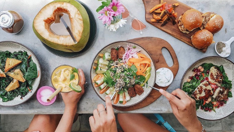 Western style food can be found in plenty of cafes located in Canggu which are also known as a prime spots for digital nomads.