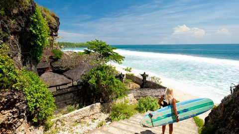 Echo beach in Canggu is a great place for surfers, digital nomads and everybody in between who is into beach activities.