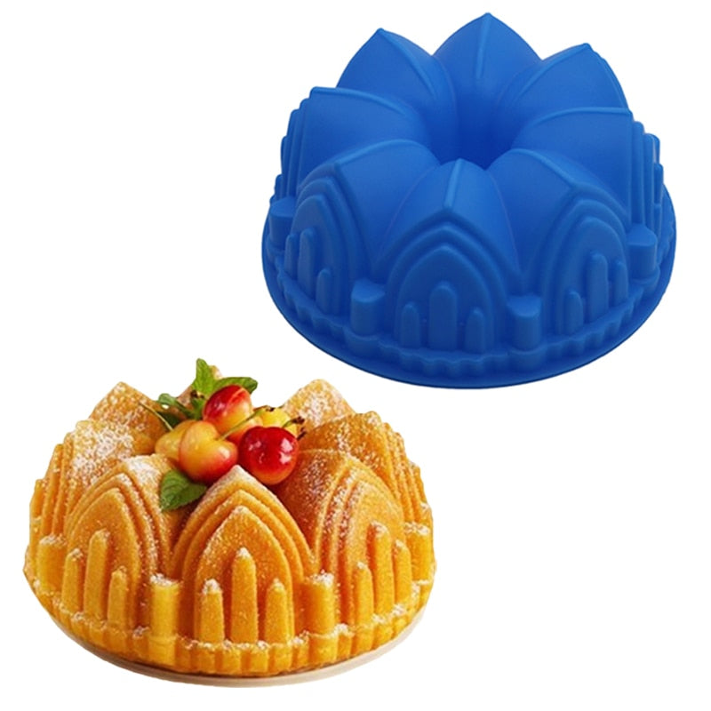 Cathedral Shaped Silicone Cake Mold