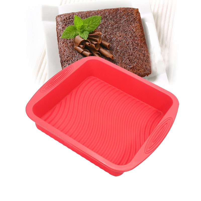Silicone Cake and Brownie Pan