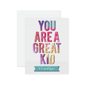 Great Kid Card