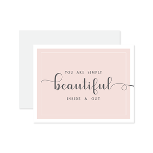 Simply Beautiful Card