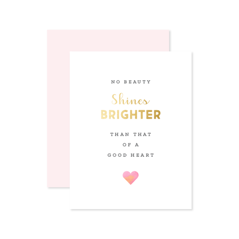 Shines Brighter Card
