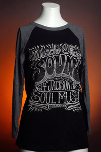 Muscle Shoals Sound Baseball Tee (Soul Music Edition)