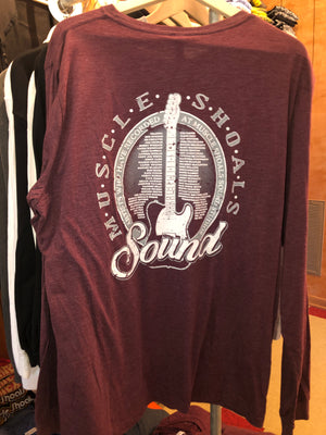 Vintage Maroon Long Sleeve