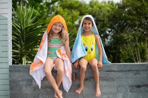 Hooded towel - Small (0 - 6 yrs)