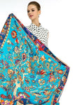 Women Pure Silk Scarf