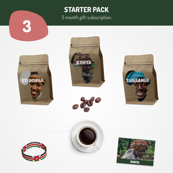 Starter Pack - 3 Month Gift Subscription