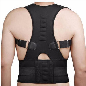 Adjustable Magnetic Posture Corrector (Upper Back & Waist)