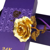 24K Gold Foil Rose (Valentine's Day)
