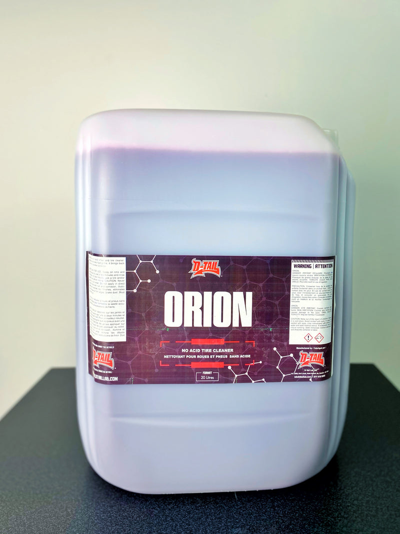 D-TAIL LAB ORION ACID-FREE WHEEL & TIRE CLEANER