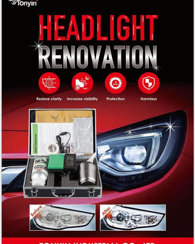 TONYIN Headlight Renovation System