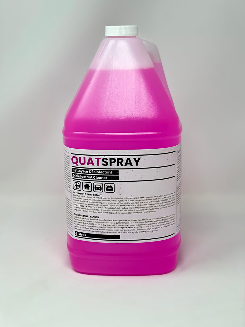 D-TAIL QUAT SPRAY - Multi-surfaces Disinfectant & Cleaner