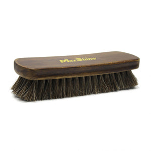 MAXSHINE HORSEHAIR LEATHER CLEANING BRUSH - LARGE