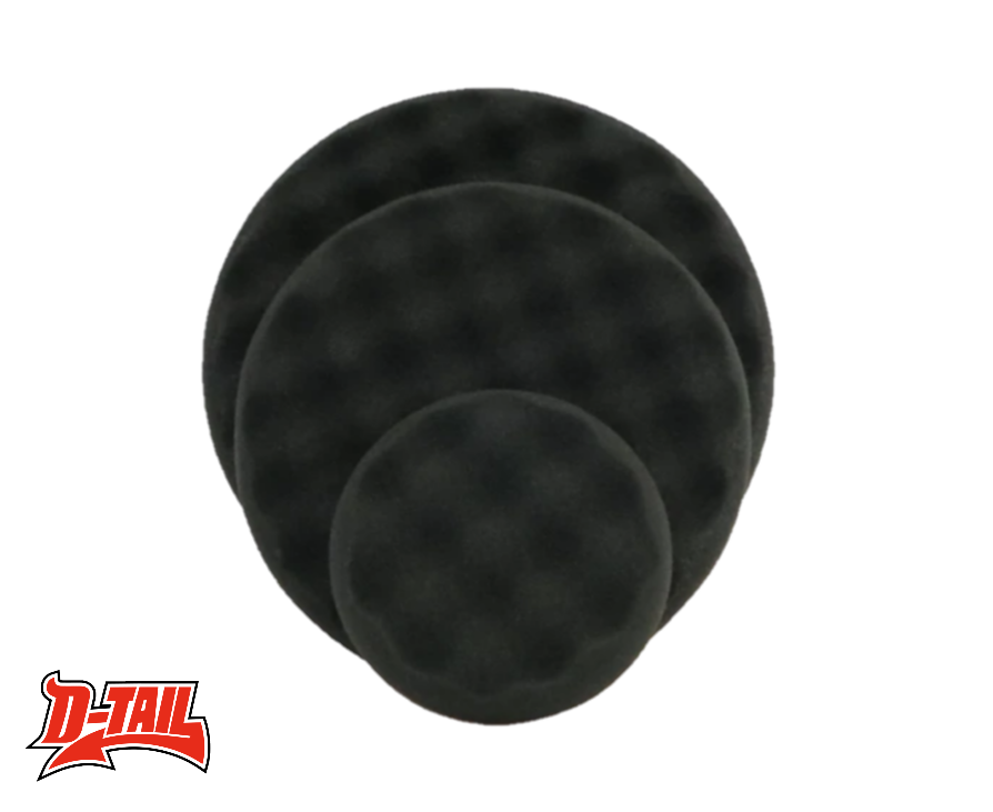 Scholl Concepts Black SOFTouch Waffle Finishing pad