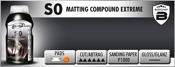 S0 Matting Extreme Compound - D-Tail Lab
