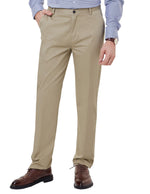 Paul Jones Business Mens Dress Formal Pants Casual Slim Fit Straight Solid Color Trousers