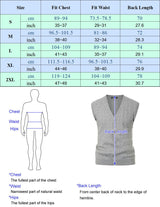 Knitwear Cable Pattern Sweater Vest-size-chart-PJ Paul Jones