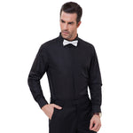 Pj Men's Stylish & Slim Fit Long Sleeve Collar Dress Shirt Tops Dress Shirt 2018