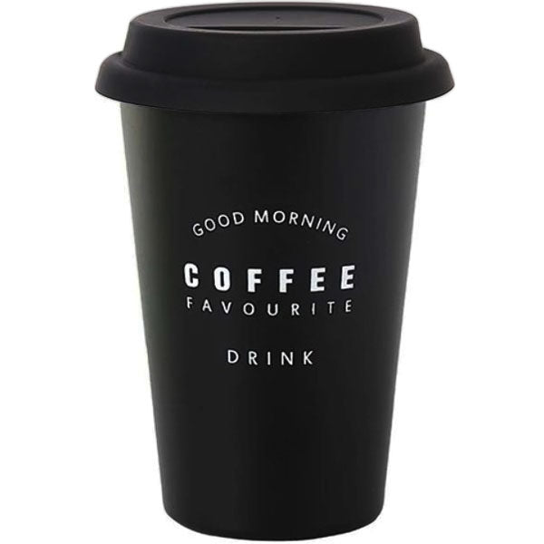 "Reusable coffee cup ""Morning"""