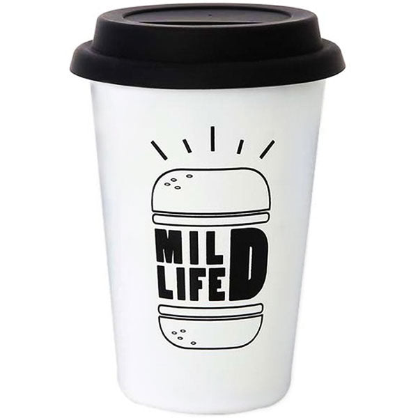"Reusable coffee cup ""Mild Life"""