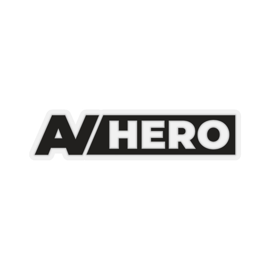 AV HERO Kiss-Cut Sticker