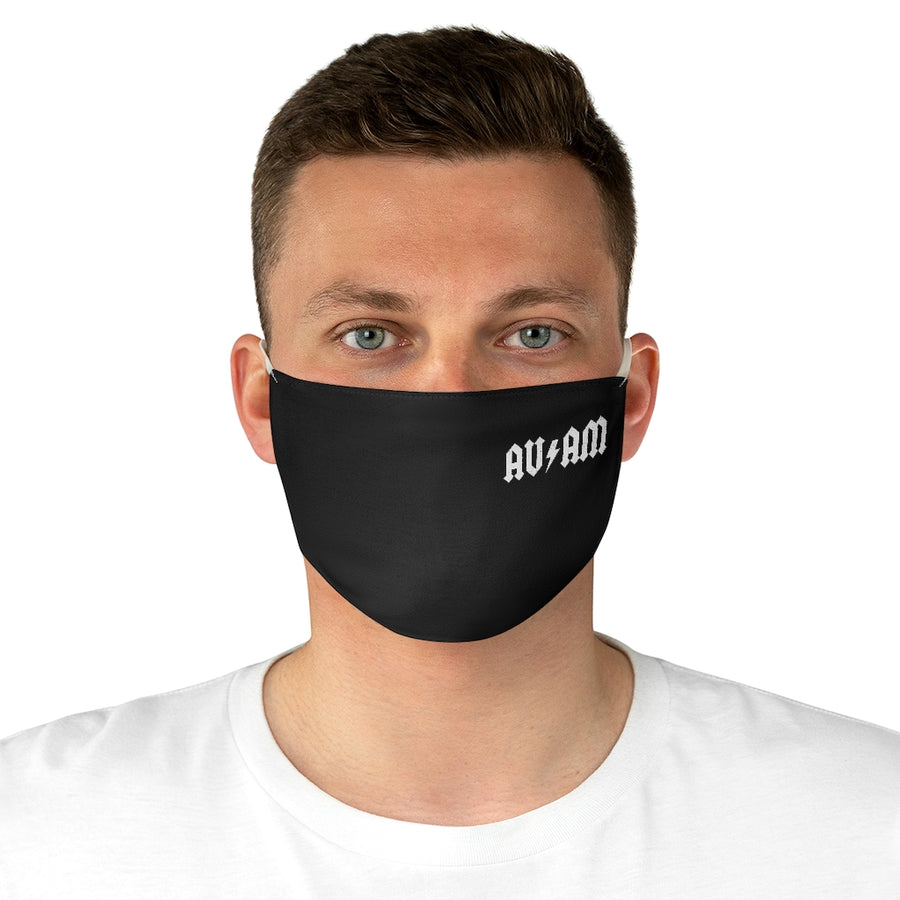 AVinTheAM High Voltage Fabric Face Mask