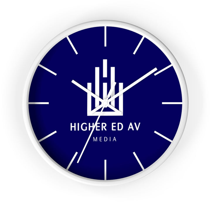 Higher Ed AV Podcast Wall clock