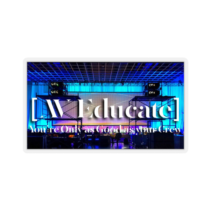 AV Educate Jumbo Sticker 6-Inch