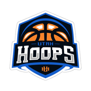 Utah Hoops Kiss-Cut Sticker