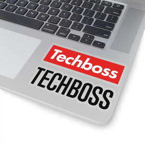 TECHBOSS® Kiss-Cut Stickers