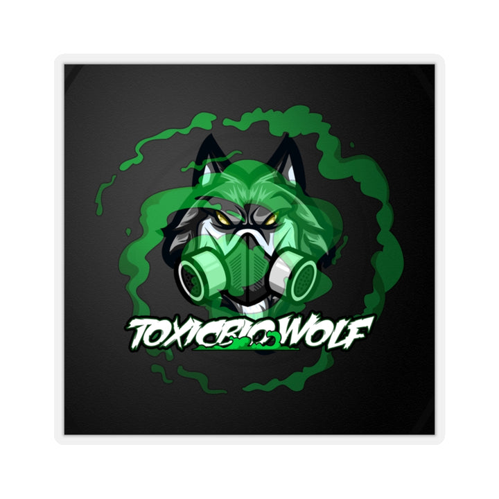 TOXICbiowolf Sticker 3-Inch