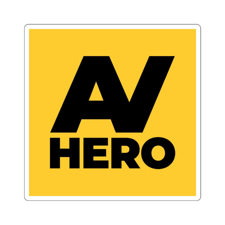 AV HERO Sticker