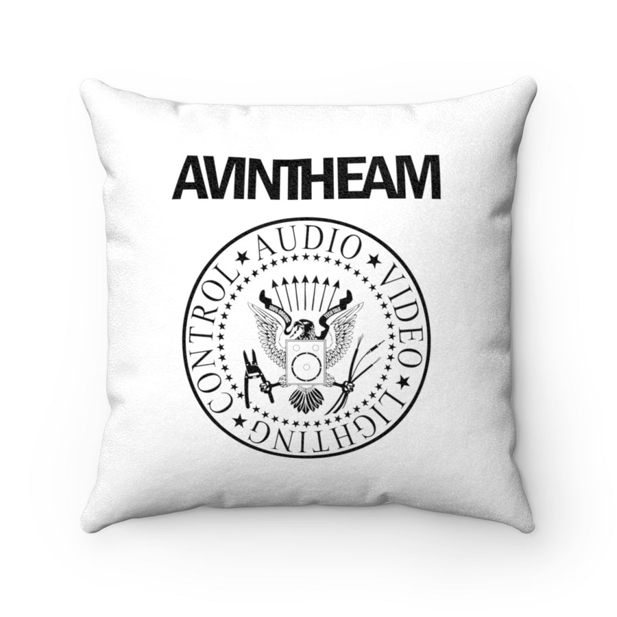 AVinTheAM AVpunk Sueded Square Pillow (LIMITED EDITION)