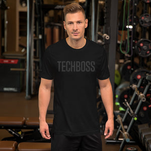 TECHBOSS® Black on Black T-Shirt (EXCLUSIVE)