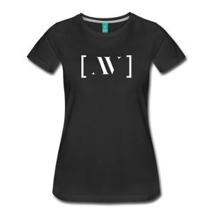 AV Educate Women's Premium T-Shirt - black