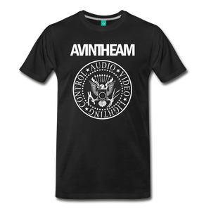 AVinTheAM AVpunk Premium T-Shirt (LIMITED EDITION) - black
